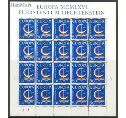 Znaczek Liechtenstein 1966 Mi ark 469 Czyste **