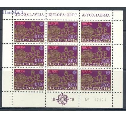 Znaczek Jugosławia 1979 Mi ark 1787-1788 Czyste **