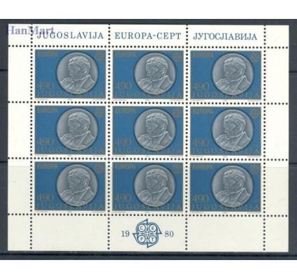 Znaczek Jugosławia 1980 Mi ark 1828-1829 Czyste **