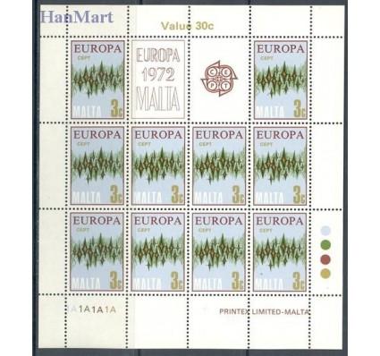 Znaczek Malta 1972 Mi ark 450-453 Czyste **