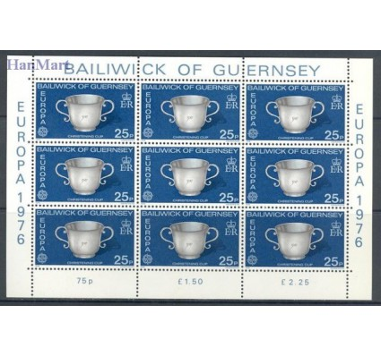 Znaczek Guernsey 1976 Mi ark 133-134 Czyste **