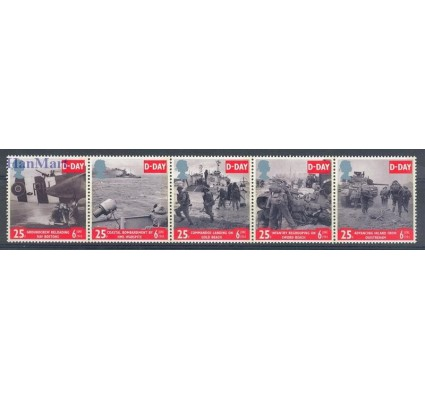 Znaczek Wielka Brytania 1994 Mi 1517-1521 Czyste **