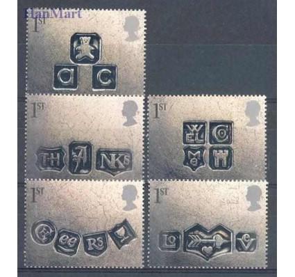 Znaczek Wielka Brytania 2001 Mi 1909-1913 Czyste **