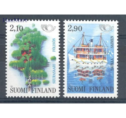 Znaczek Finlandia 1991 Mi 1142-1143 Czyste **