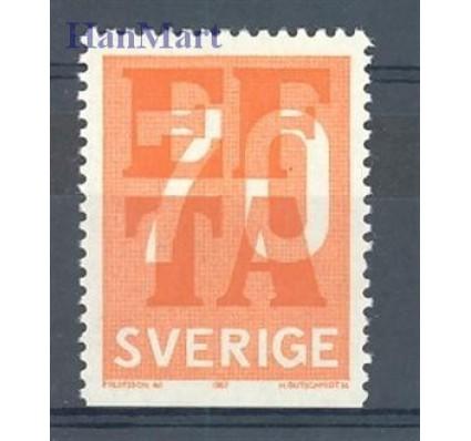 Znaczek Szwecja 1967 Mi 573Du Czyste **