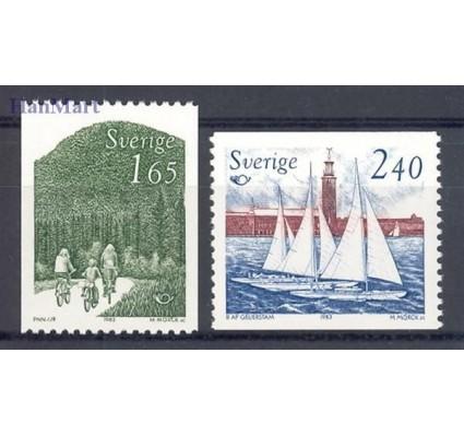 Znaczek Szwecja 1983 Mi 1230-1231 Czyste **