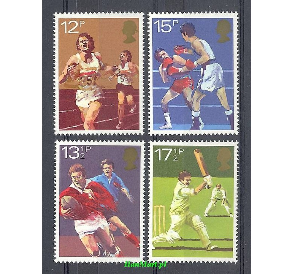 Wielka Brytania 1980 Mi 850-853 Czyste **