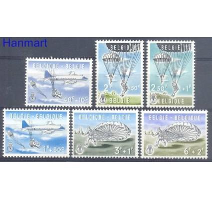 Belgia 1961 Mi 1190-1195 Czyste **