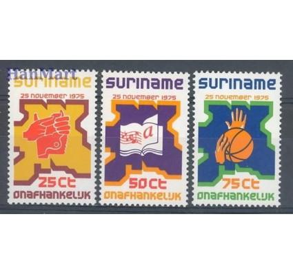 Znaczek Surinam 1975 Mi 702-704 Czyste **