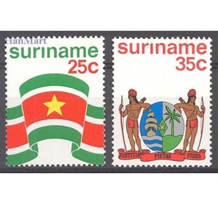 Znaczek Surinam 1976 Mi 715-716 Czyste **