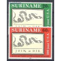 Surinam 1976 Mi 736-737 Czyste **