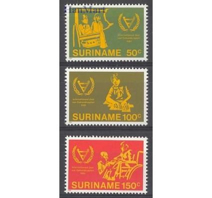 Znaczek Surinam 1981 Mi 954-956 Czyste **