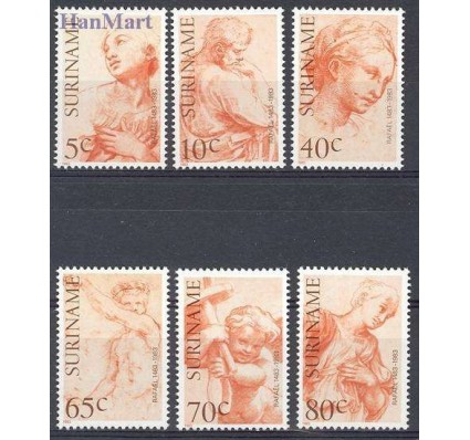 Znaczek Surinam 1983 Mi 1026-1031 Czyste **