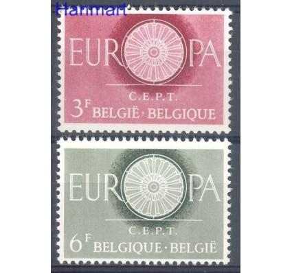 Znaczek Belgia 1960 Mi 1209-1210 Czyste **