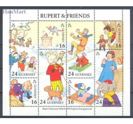 Znaczek Guernsey 1993 Mi ark 590-597 Czyste **