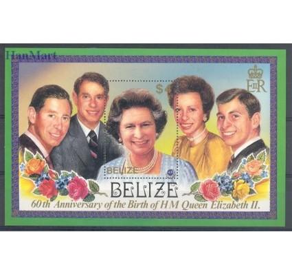 Znaczek Belize 1986 Mi bl 78 Czyste **
