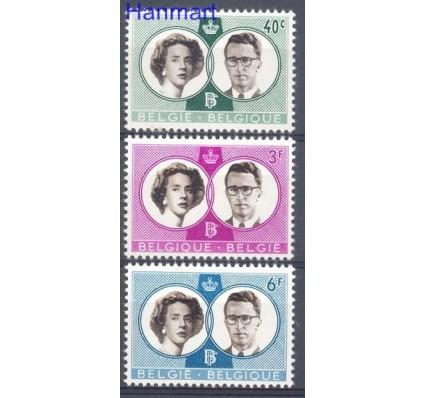 Znaczek Belgia 1960 Mi 1228-1230 Czyste **