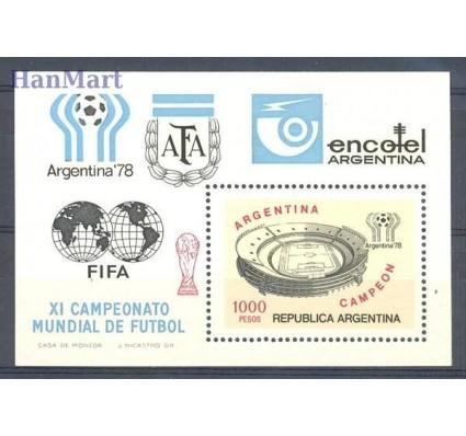 Znaczek Argentyna 1978 Mi bl 21 Czyste **