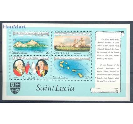 Znaczek Saint Lucia 1982 Mi bl 34 Czyste **