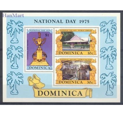 Znaczek Dominika 1975 Mi bl 34 Czyste **