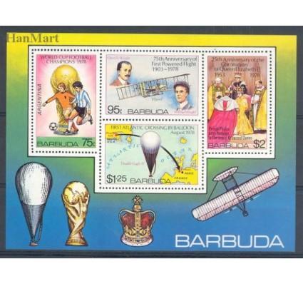 Znaczek Barbuda 1978 Mi bl 39 Czyste **