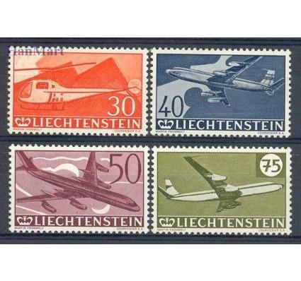 Znaczek Liechtenstein 1960 Mi 391-394 Czyste **