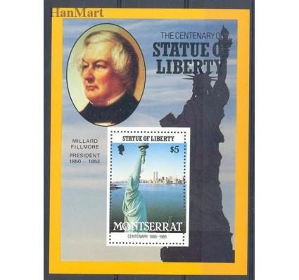 Znaczek Montserrat 1986 Mi bl 40 Czyste **