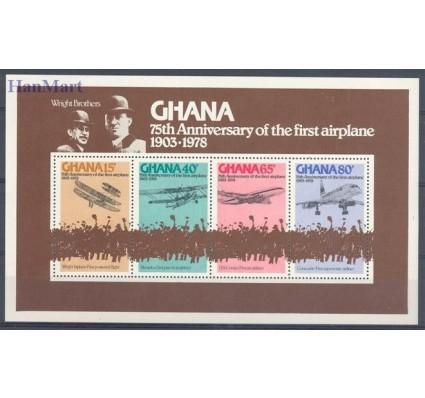 Znaczek Ghana 1978 Mi bl 75 Czyste **