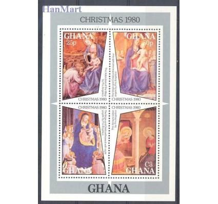 Znaczek Ghana 1980 Mi bl 86 Czyste **