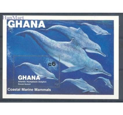 Znaczek Ghana 1983 Mi bl 100 Czyste **