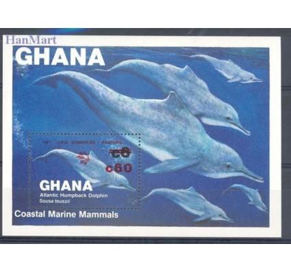 Znaczek Ghana 1984 Mi bl 107 Czyste **