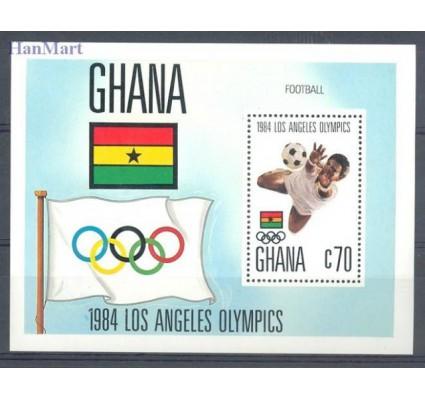 Znaczek Ghana 1984 Mi bl 109 Czyste **