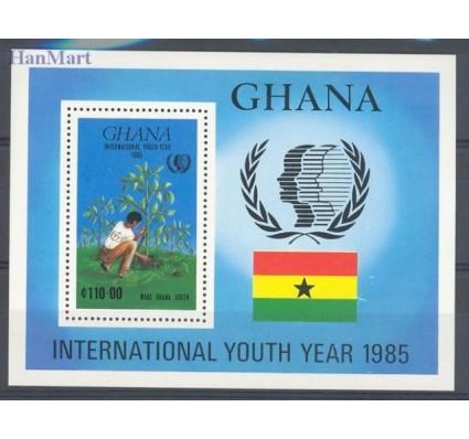 Znaczek Ghana 1985 Mi bl 117 Czyste **
