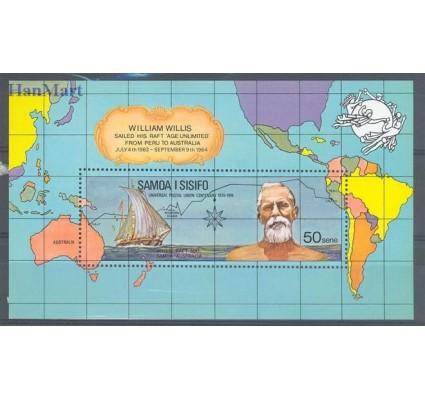 Znaczek Samoa 1974 Mi bl 6 Czyste **
