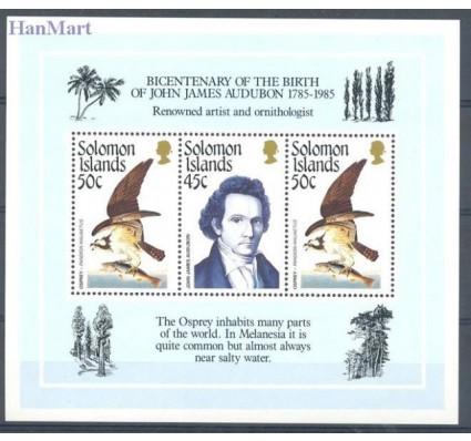 Znaczek Wyspy Salomona 1985 Mi bl 18 Czyste **