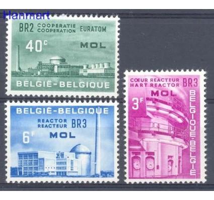 Belgia 1961 Mi 1255-1257 Czyste **