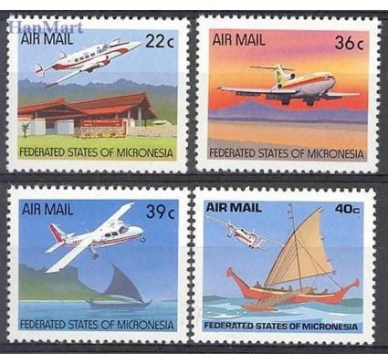 Znaczek Mikronezja 1990 Mi 184-187 Czyste **