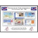 Wyspy Marshalla 1989 Mi bl 5 Czyste **