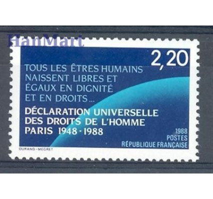Znaczek Francja 1988 Mi 2695 Czyste **
