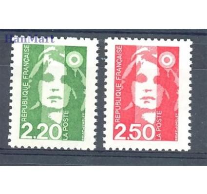 Znaczek Francja 1991 Mi 2858-2859A Czyste **