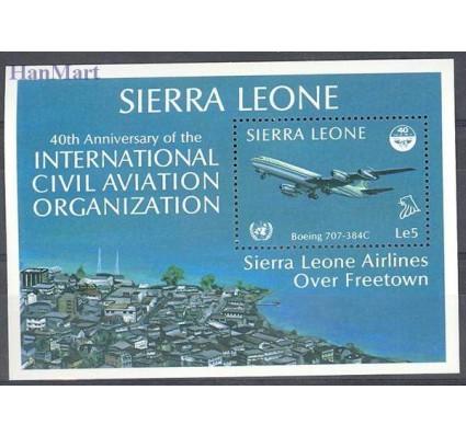 Znaczek Sierra Leone 1985 Mi bl 29 Czyste **