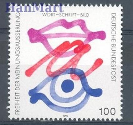 Znaczek Niemcy 1995 Mi 1789 Czyste **