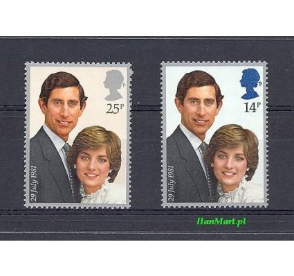 Wielka Brytania 1981 Mi 884-885 Czyste **
