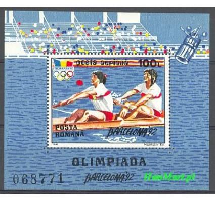 Znaczek Rumunia 1992 Mi bl 274 Czyste **