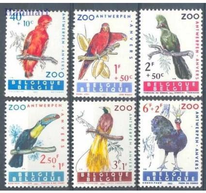 Znaczek Belgia 1962 Mi 1276-1281 Czyste **