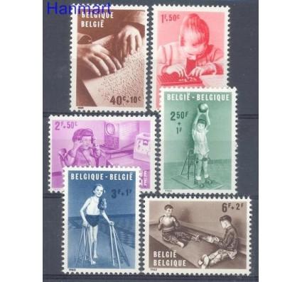 Belgia 1962 Mi 1285-1290 Czyste **