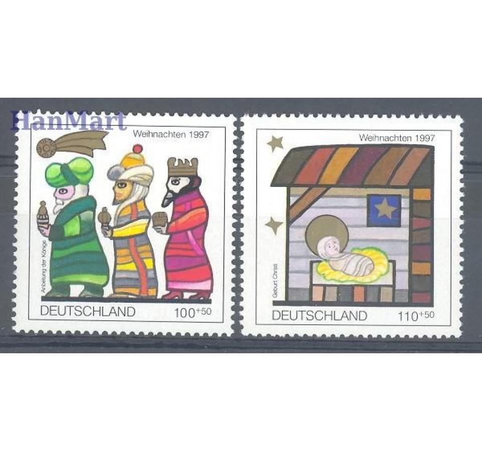 Niemcy 1997 Mi 1959-1960 Czyste **