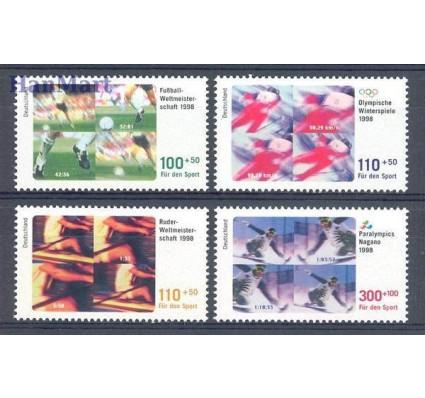 Znaczek Niemcy 1998 Mi 1968-1971 Czyste **