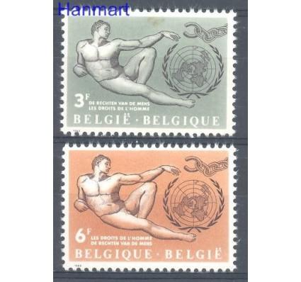 Belgia 1962 Mi 1291-1292 Czyste **