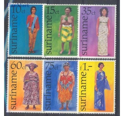 Znaczek Surinam 1977 Mi 753-758 Czyste **